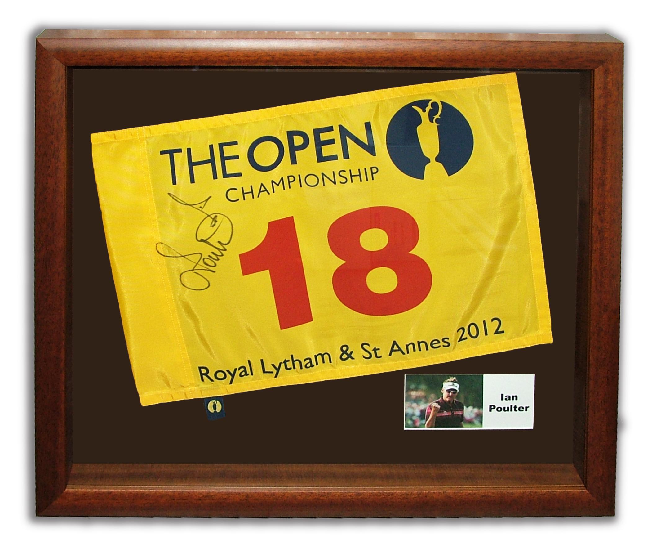 ian-poulter-18th-golf-flag-royal-lytham-st-annes-2012