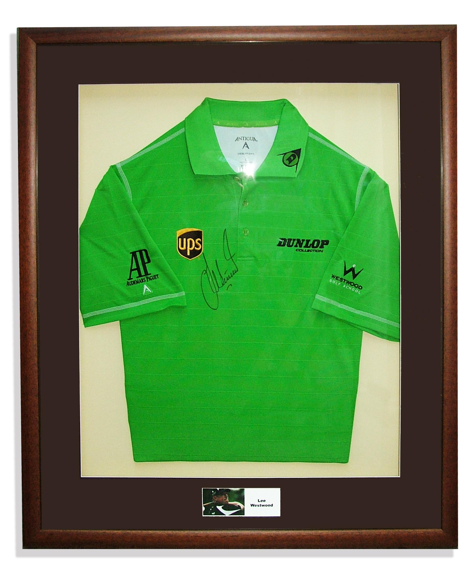 lee-westwood-golf-shirt-framed