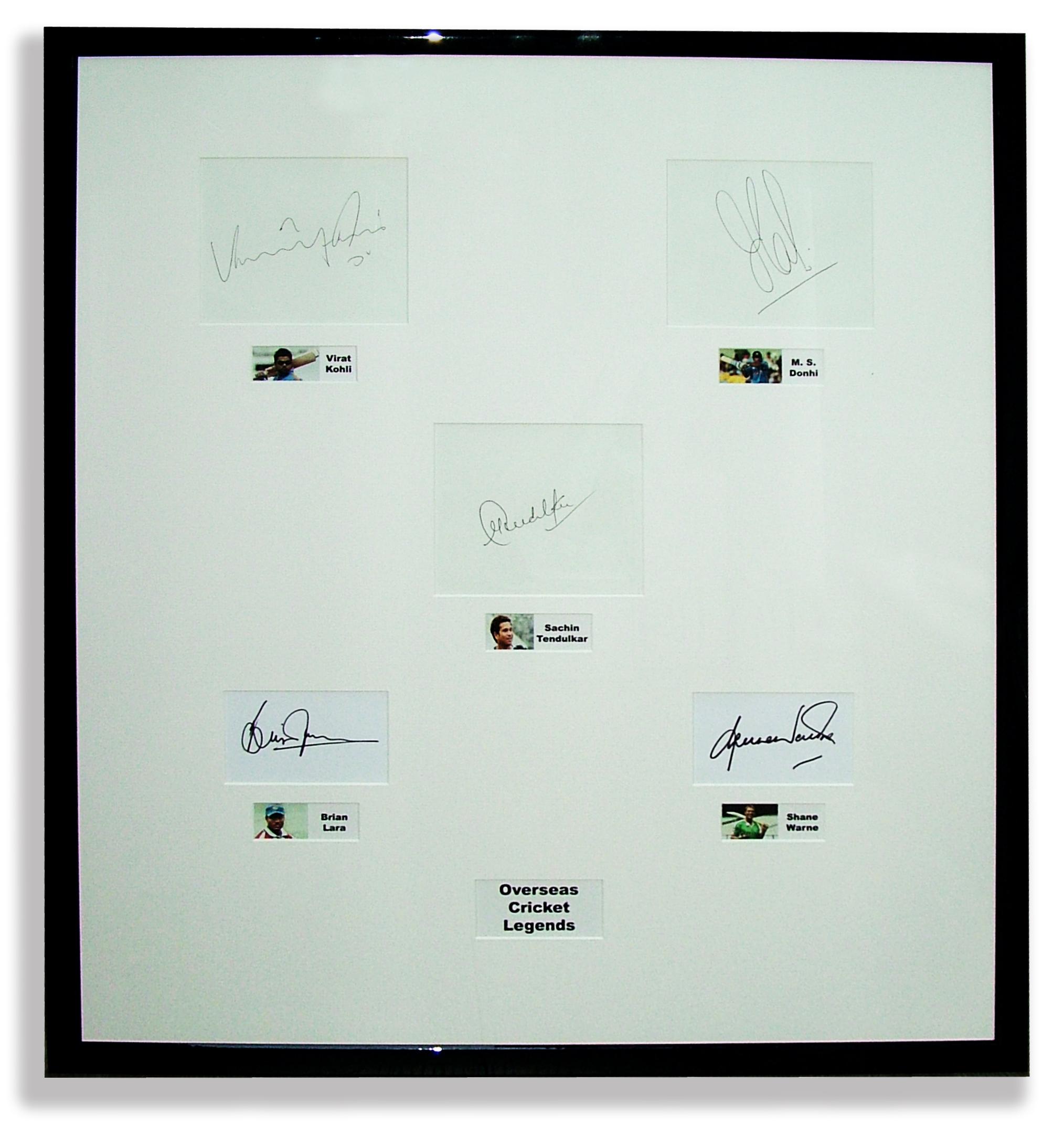 overseas-cricket-legends-autographs-framed