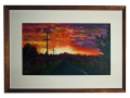 kim-mcmahon-road-to-sunset-framed