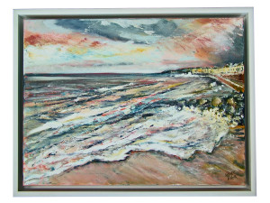 Clare Tebboth Canvas shadow frame